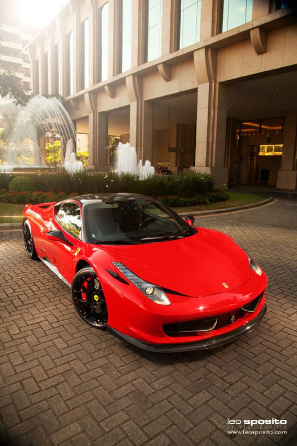 Sposito Studio Ferrari 458 Oakley