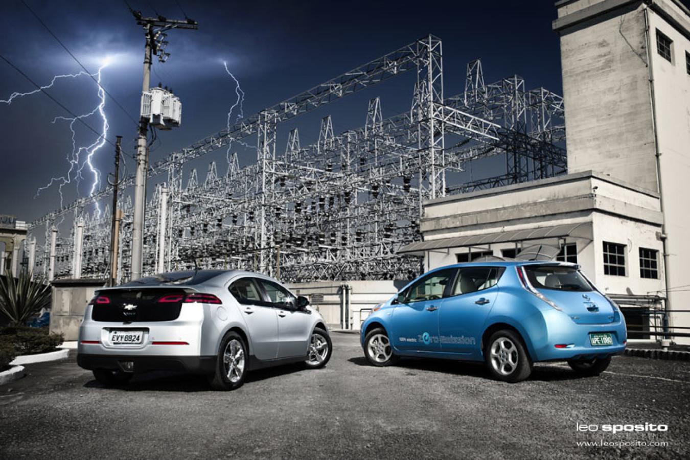 Chevrolet Volt Vs Nissan Leaf